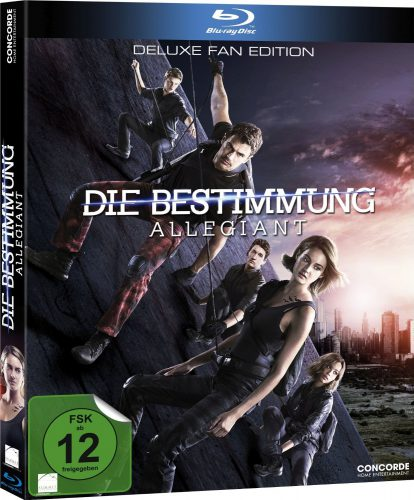 Die Bestimmung - Allegiant Blu-ray Review Cover
