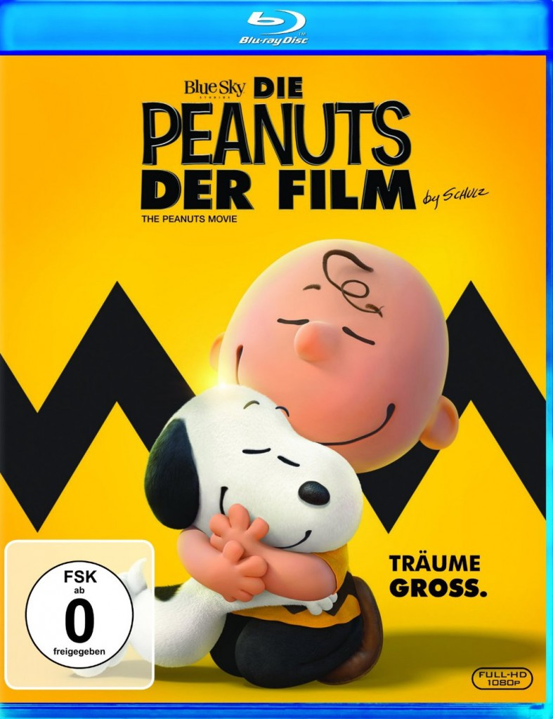 Die Peanuts - der Film Blu-ray Review Cover