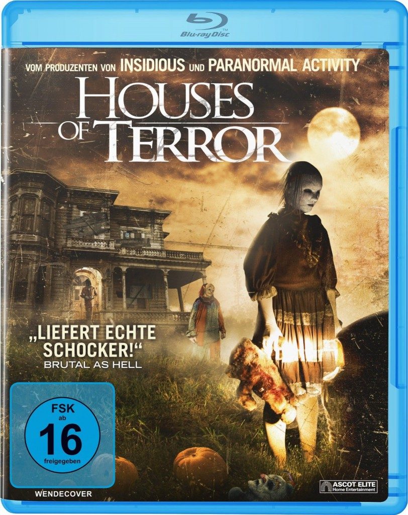 Houses of Terror Blu-ray Review Cover