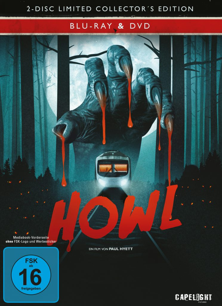 Howl - Endstation Vollmond Blu-ray Review Cover