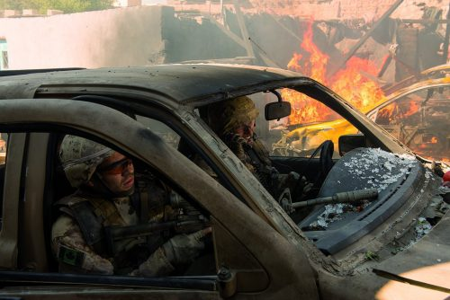 Hyena Road - Eine Kugel kann alles verändern Blu-ray Review Szene 2