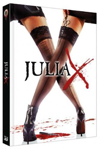 Julia X 3D Uncut Blu-ray Review Cover