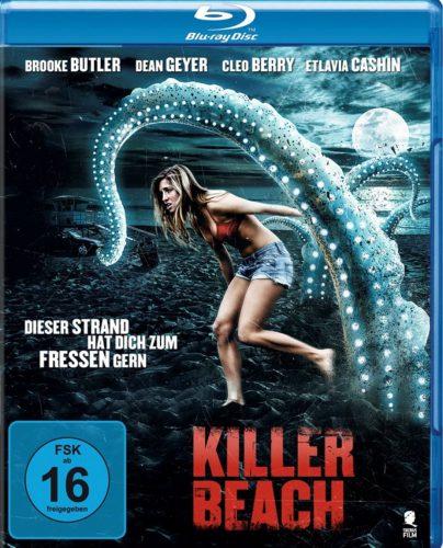 Killer Beach - Dieser Strand hat dich zum Fressen gern Blu-ray Review Cover