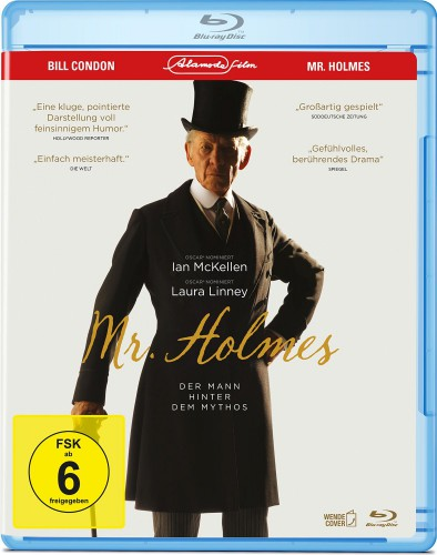 Mr Holmes Der Mann hinter dem Mythos Blu-ray Review Cover