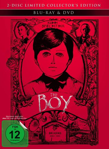 The Boy Blu-ray Review Mediabook Cover