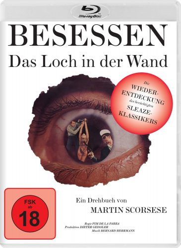 Besessen - Das Loch in der Wand Blu-ray Review Cover