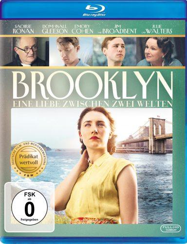 Brooklyn - Eine Liebe zwischen zwei Welten Blu-ray Review Cover