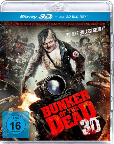 Bunker of the Dead 3D uncut Blu-ray Review Cover