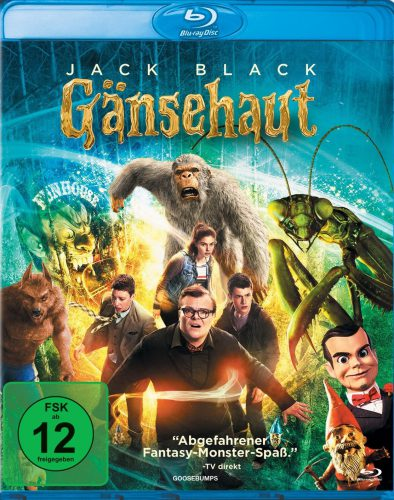 Gänsehaut - Goosebumps Blu-ray Review Cover