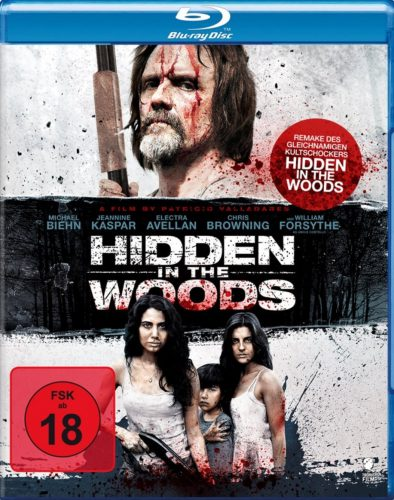 Hidden in the Woods Blu-ray Review Cover