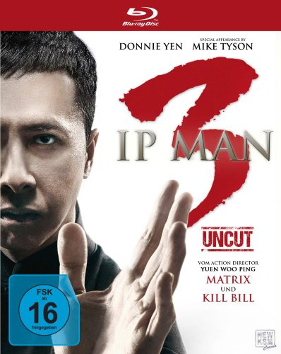 IP Man 3 Blu-ray Review Cover