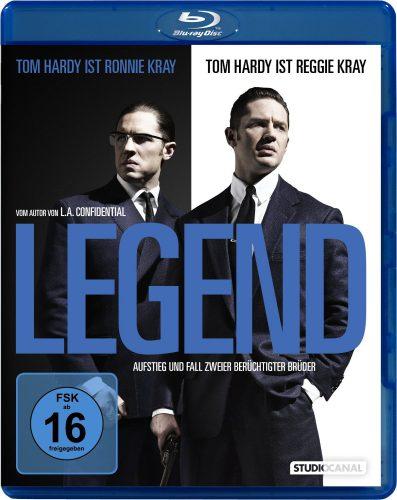 Legend - Aufstieg und Fall zweier berüchtigter Brüder Blu-ray Review Cover