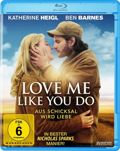 Love Me Like You Do - Aus Schicksal wird Liebe Blu-ray Review Cover