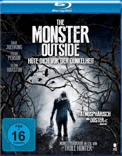 Monster Outside - Hüte dich vor der Dunkelheit Blu-ray Review Cover