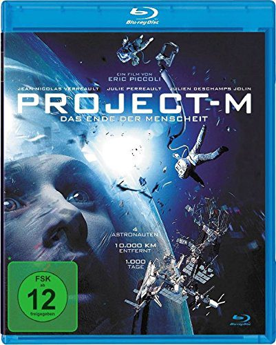 Project-M - Das Ende der Menschheit Blu-ray Review Cover
