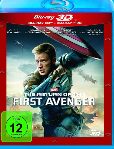 Return of the First Avenger 3D Blu-ray Review Cover