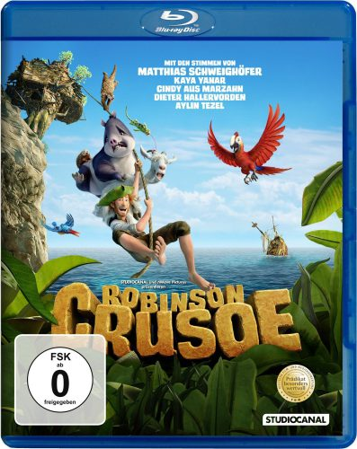 Robinson Crusoe Blu-ray Review Cover