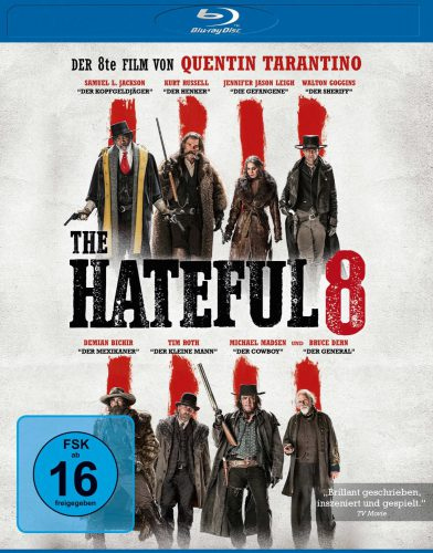 The Hateful 8 Hateful Eight Blu-ray Review Cover