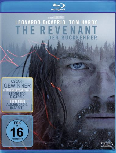 The Revenant - Der Rückkehrer Blu-ray Review Cover