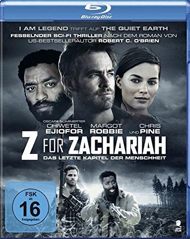 Z for Zachariah - Das letzte Kapitel der Menschheit Blu-ray Review Cover