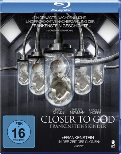 Closer to God - Frankensteins Kinder Blu-ray Review Cover
