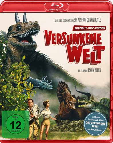 Die Verlorene Welt - Lost World Blu-ray Review Cover