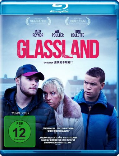Glassland Blu-ray Review Cover