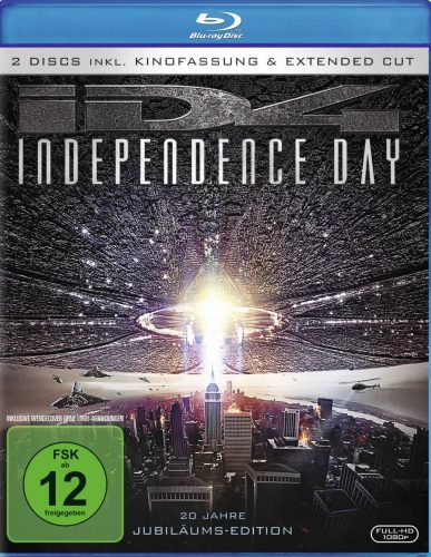 Independence Day Jubiläumsedition Blu-ray Review Cover