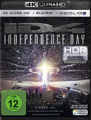 Independence Day Jubiläumsedition UHD Blu-ray Review Cover