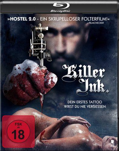 Killer Ink - dein erstes Tattoo wirst du nie vergessen Blu-ray Review Cover