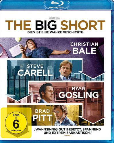 The Big Short Blu-ray Review Cover