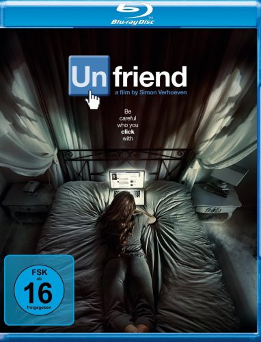 Unfriend Blu-ray Review Cover