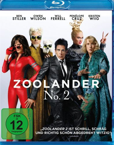 Zoolander 2 Blu-ray Review Cover