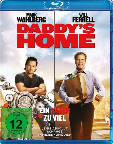 daddy's home - ein vater zu viel Blu-ray Review Cover
