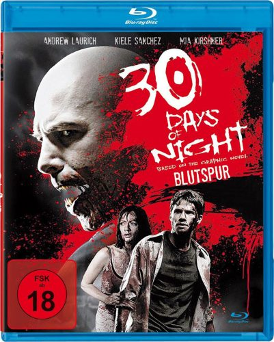 30 Days of Night - Blutspur Blu-ray Review Cover