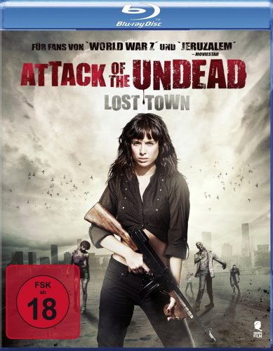 Attack of the Undead - Lost Town Blu-ray Review Cover