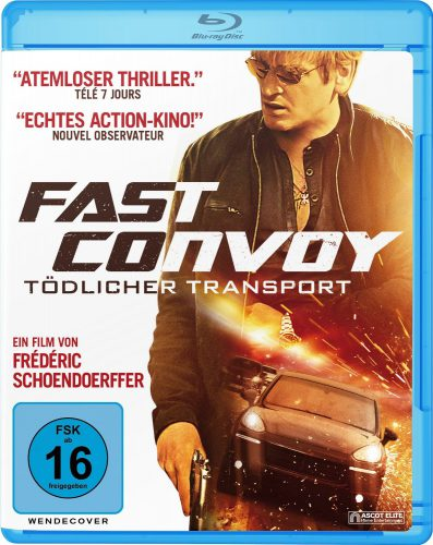 Fast Convoy - Tödlicher Transport Blu-ray Review Cover