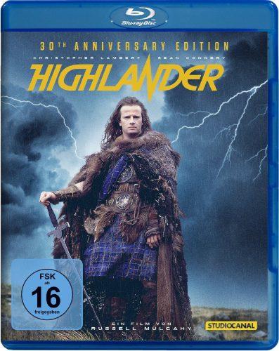 Highlander - Es kann nur einen geben 30th Anniversary Edition Blu-ray Review Cover