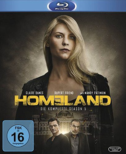 Homeland - die komplette fünfte Staffel Season 5 Blu-ray Review Cover