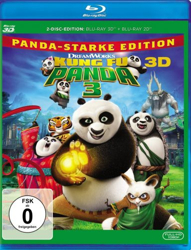Kung Fu Panda 3 3D Blu-ray Review Cover