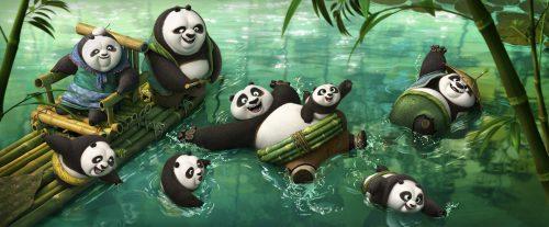 Kung Fu Panda 3 3D Blu-ray Review Szene 1