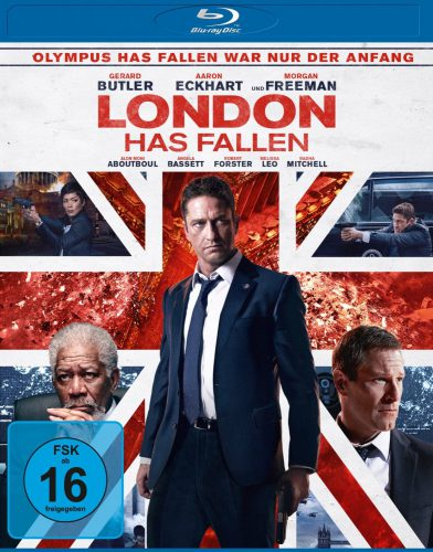London Has Fallen Blu-ray Review Cover