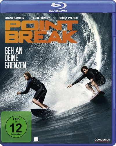Point Break - Geh an deine Grenzen Blu-ray Review Cover
