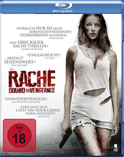 Rache - Bound to Vengeance Uncut Blu-ray Review Cover