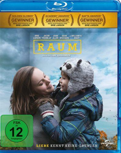 Raum - Liebe kennt keine Grenzen Blu-ray Review Cover