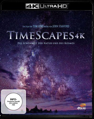 TimeScapes - die Schönheit der Natur und des Kosmos 4K Ultra HD Blu-ray Review Cover
