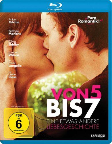 Von 5 bis 7 - eine etwas anderes Liebesgeschichte Blu-ray Review Cover