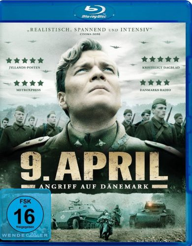 9. April - Angriff auf Dänemark Blu-ray Review Cover