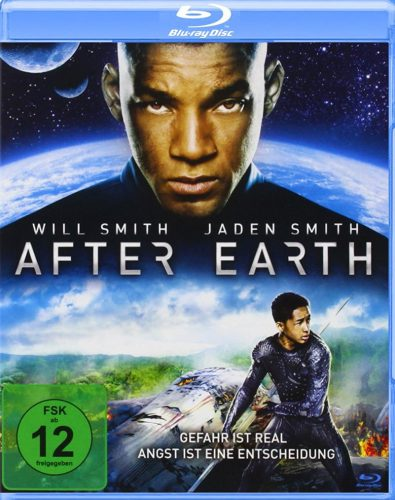 After Earth Blu-ray Review Cover