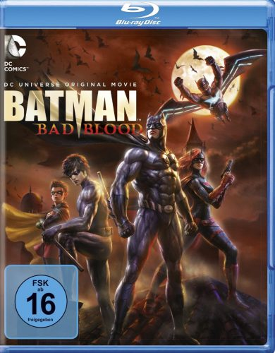 Batman Bad Blood Blu-ray Review Cover